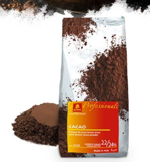 Cacao en polvo 22-24% mc 5 kg