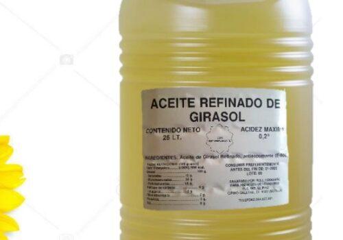 Aceite refinado de Girasol 10 litros