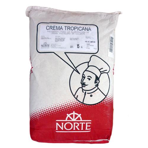 Crema pastelera en polvo tropicana 15 kg