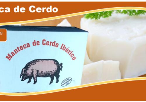 Manteca de cerdo Iberico 20 kg