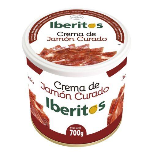 Crema de Jamon Curado Lata 700 gramos